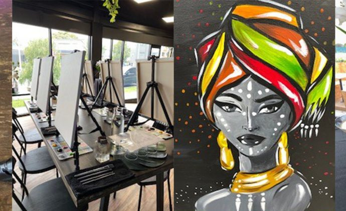 Express your creative side @ Brush by the Vines