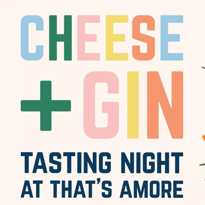 Cheese + Gin Tasting Night